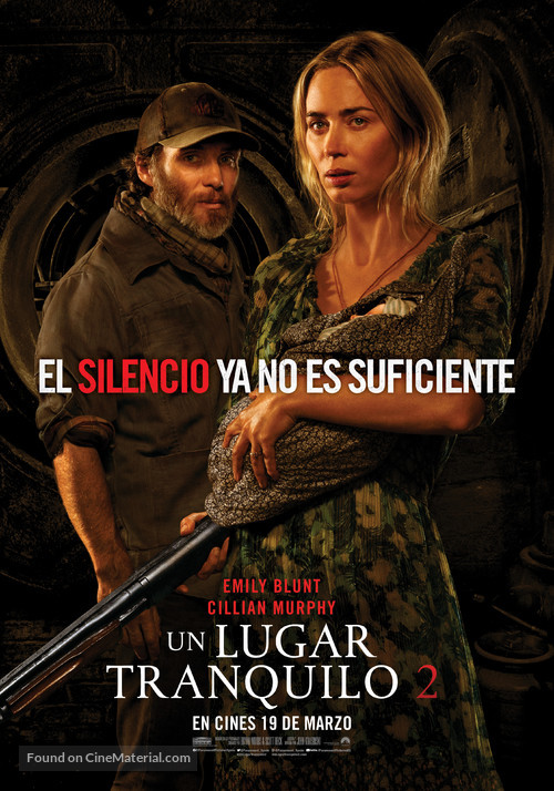 A Quiet Place: Part II - Spanish Movie Poster