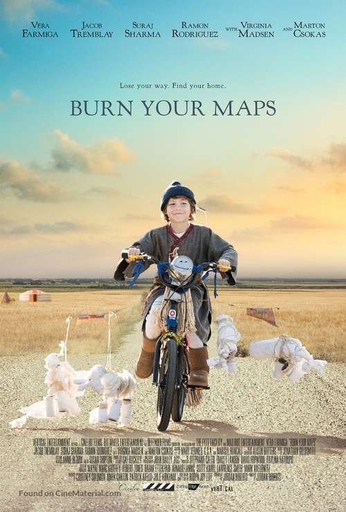 Burn Your Maps - Movie Poster