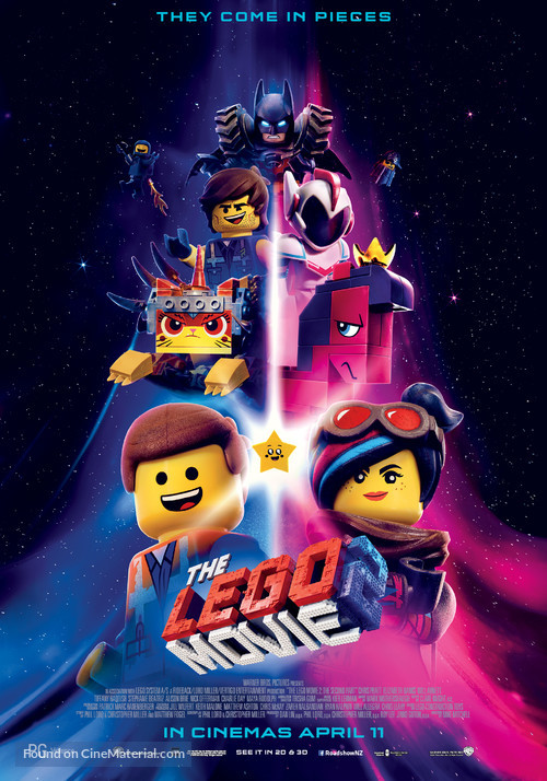 The Lego Movie 2: The Second Part - New Zealand Movie Poster