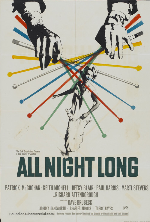 All Night Long - British Movie Poster