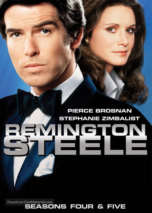 """Remington Steele"" - DVD movie cover"
