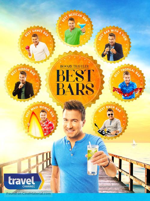 """""""Booze Traveler: Best Bars"""" - Movie Poster"""