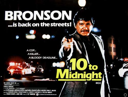 10 to Midnight - British Movie Poster