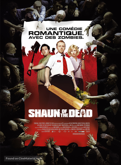 Shaun of the Dead - French Movie Poster