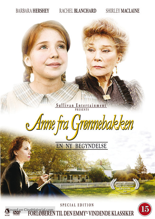 Anne of Green Gables: A New Beginning - Danish Movie Cover
