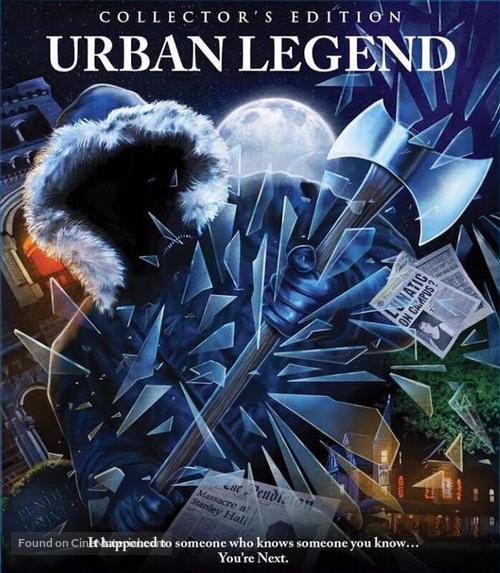 Urban Legend - Blu-Ray movie cover