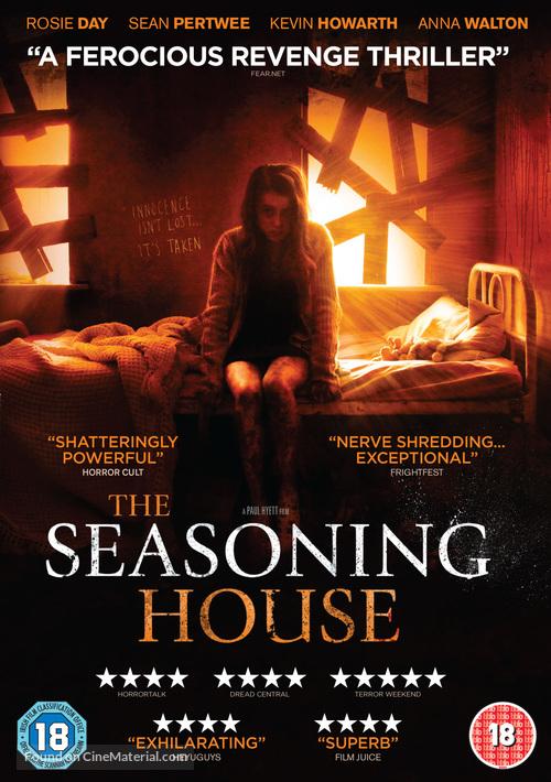 The Seasoning House - British DVD movie cover