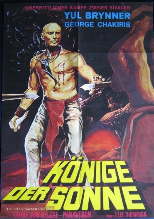 Kings of the Sun - German Movie Poster