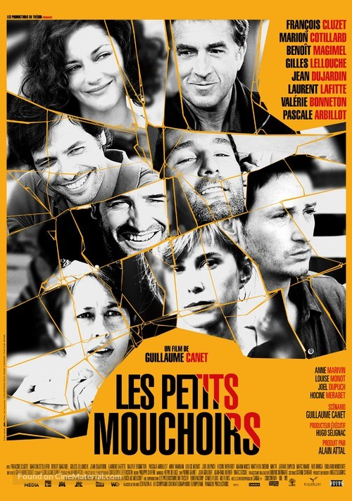 Les petits mouchoirs - Swiss Movie Poster