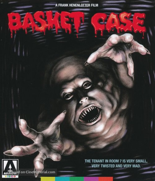 Basket Case - British Movie Cover