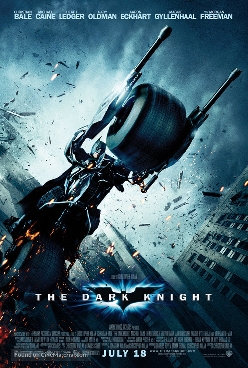 The Dark Knight - Movie Poster