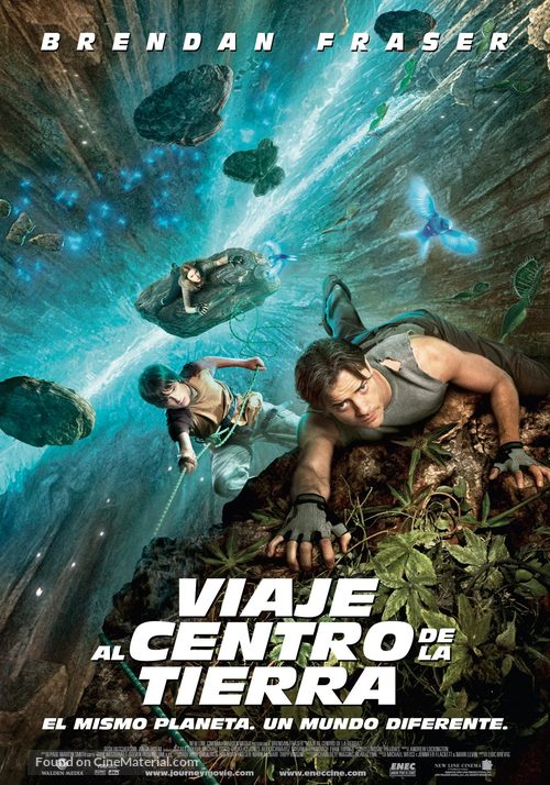 Journey to the Center of the Earth - Uruguayan Movie Poster