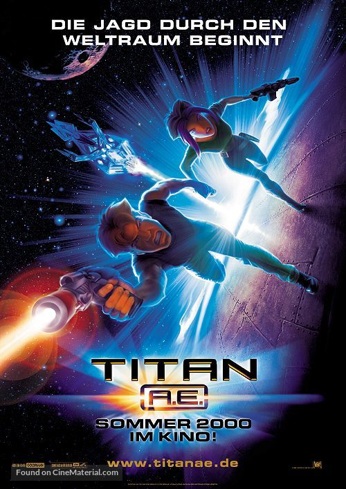 Titan A.E. - German Movie Poster