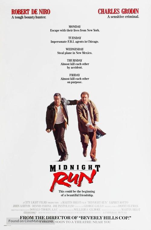 Midnight Run - Movie Poster