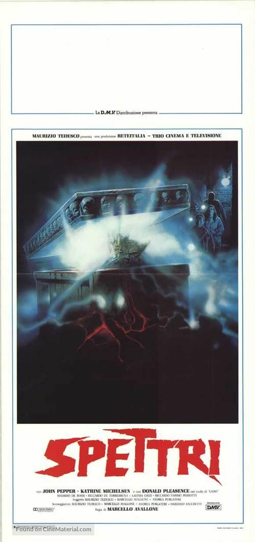 Spettri - Italian Movie Poster