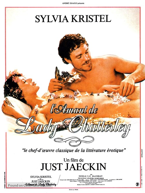 Lady Chatterley's Lover - French Movie Poster