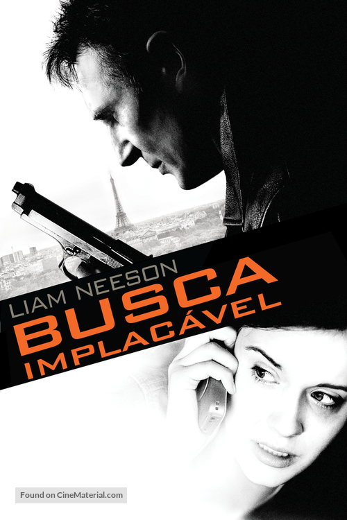 Taken - Brazilian DVD movie cover