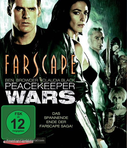 """""""Farscape: The Peacekeeper Wars"""" - German DVD movie cover"""