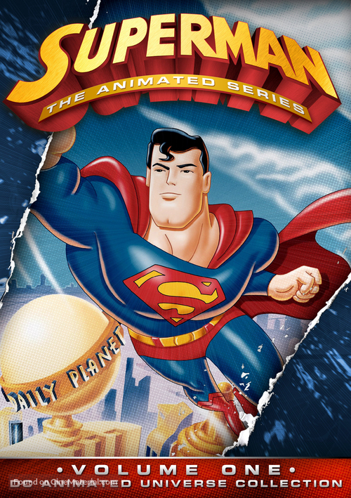 """Superman"" - DVD movie cover"