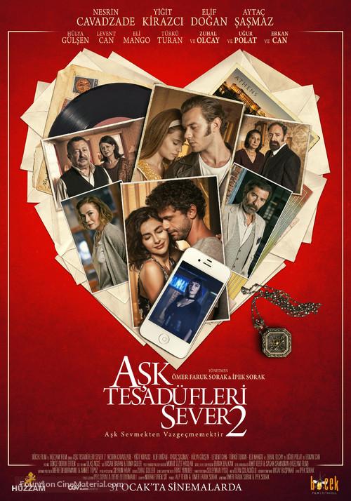 Ask Tesadüfleri Sever 2 - Turkish Movie Poster