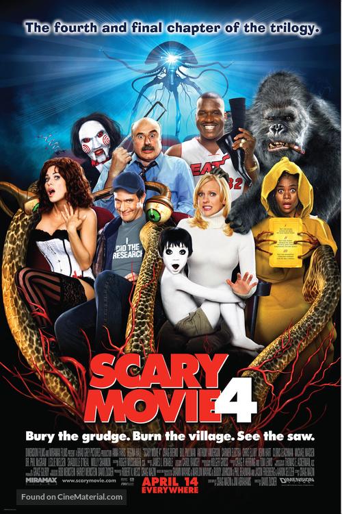Scary Movie 4 - Movie Poster
