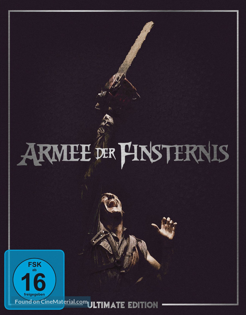 Army Of Darkness - German DVD movie cover