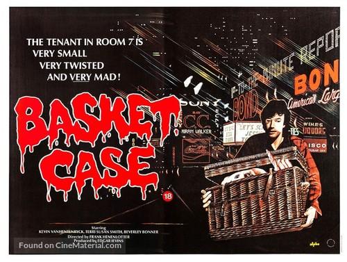 Basket Case - British Movie Poster