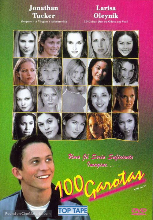 100 Girls - Brazilian Movie Cover