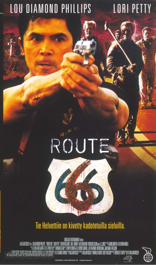 Route 666 - Finnish VHS movie cover