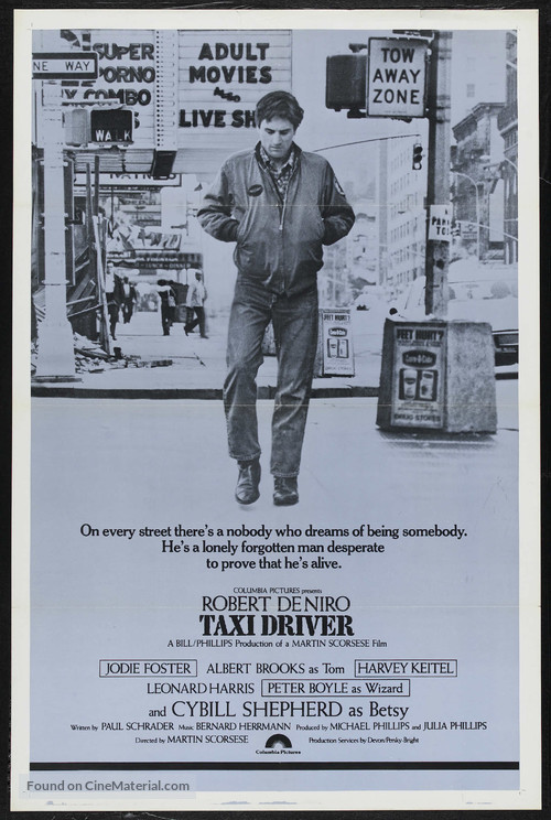 Taxi Driver - Theatrical poster
