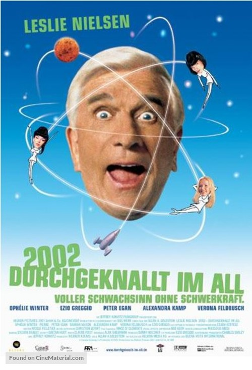 2001: A Space Travesty - German Movie Poster