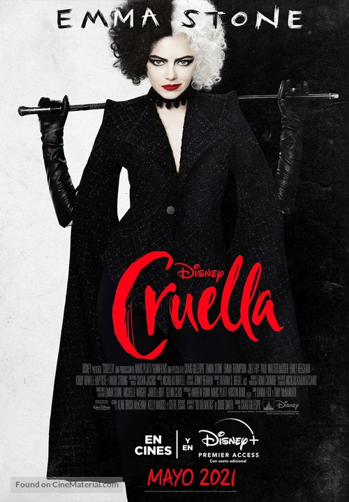Cruella - Argentinian Movie Poster