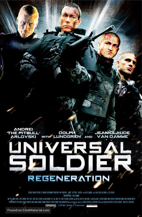 Universal Soldier: Regeneration - Movie Poster