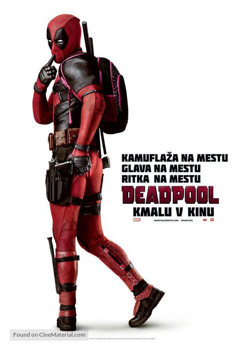 Deadpool - Slovenian Movie Poster