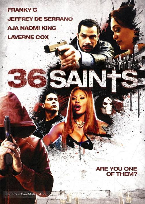 36 Saints - DVD movie cover