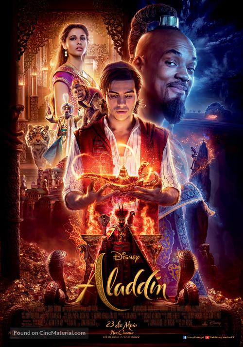 Aladdin - Portuguese Movie Poster