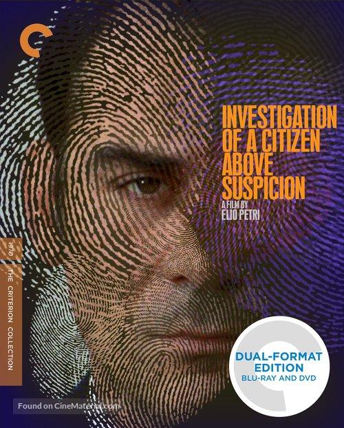 Indagine su un cittadino al di sopra di ogni sospetto - Blu-Ray movie cover