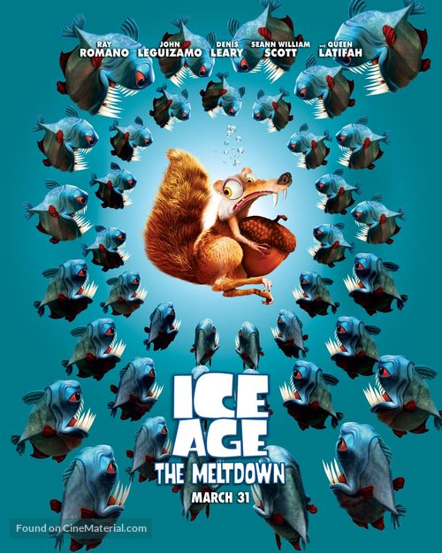 Ice Age: The Meltdown - Advance movie poster