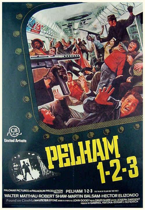 The Taking of Pelham One Two Three - Spanish Movie Poster