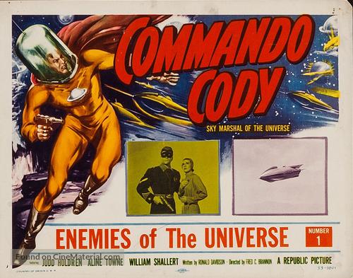 """Commando Cody: Sky Marshal of the Universe"" - Movie Poster"
