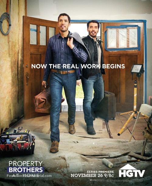"""""""Property Brothers at Home"""" - Movie Poster"""