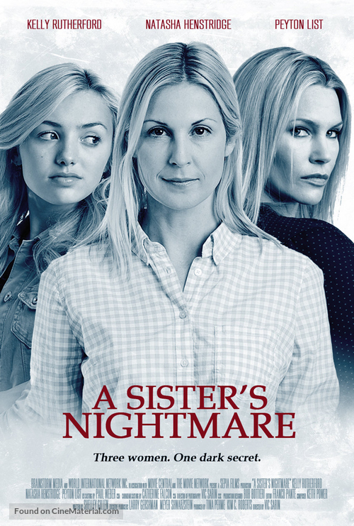 A Sister's Nightmare - Canadian Movie Poster