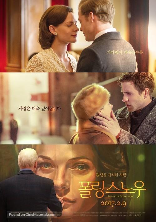 Despite the Falling Snow - South Korean Movie Poster