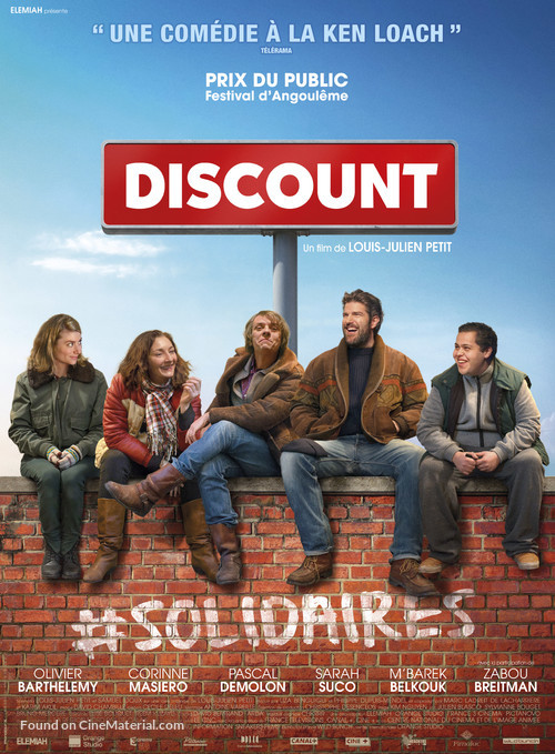 Discount - French Movie Poster