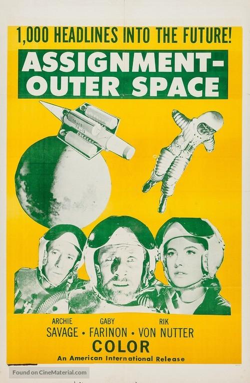 Space Men - Movie Poster