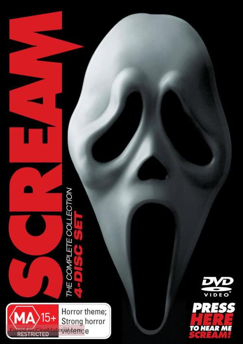 Scream 4 - Australian DVD movie cover