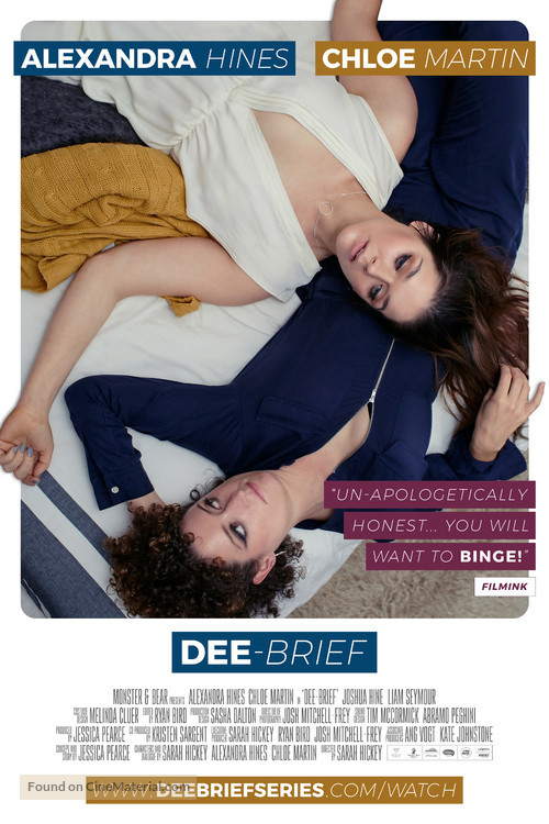 """Dee-Brief"" - Australian Movie Poster"