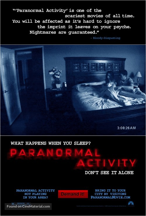 Paranormal Activity - Movie Poster