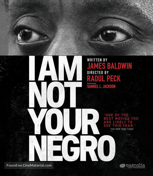 I Am Not Your Negro - Movie Cover