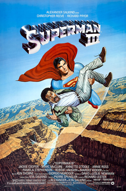 Superman III - Movie Poster